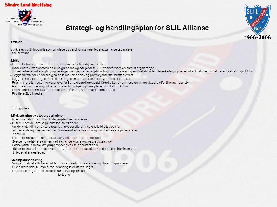 Strategi- og handlingsplan for SLIL Allianse