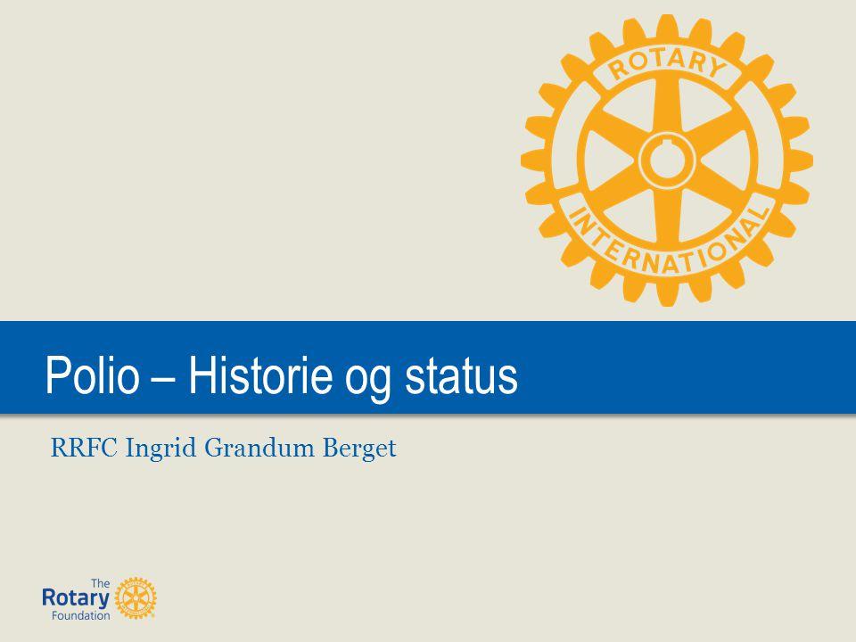 Polio – Historie og status