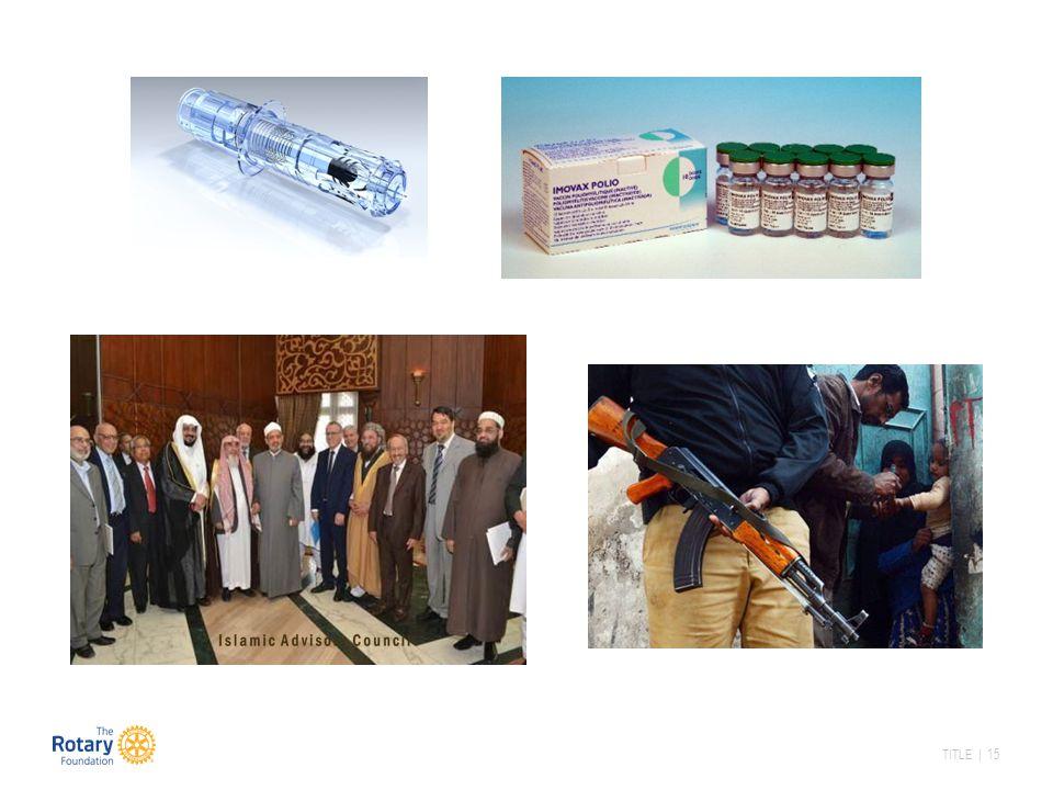 Nye vaksiner der man bruker inactivated polio vaccine – IPV – er mer effektivt enn de som tas som dråper og blir en dela av det nasjonale vaksineprogrammet. Men de krever at det er helsepersonell som setter vaksinen, og kan ikke brukes når man driver massevaksinering uner NID.