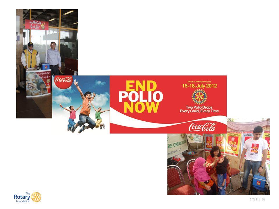 Rotarianere øker sitt engasjement ute I feltet.