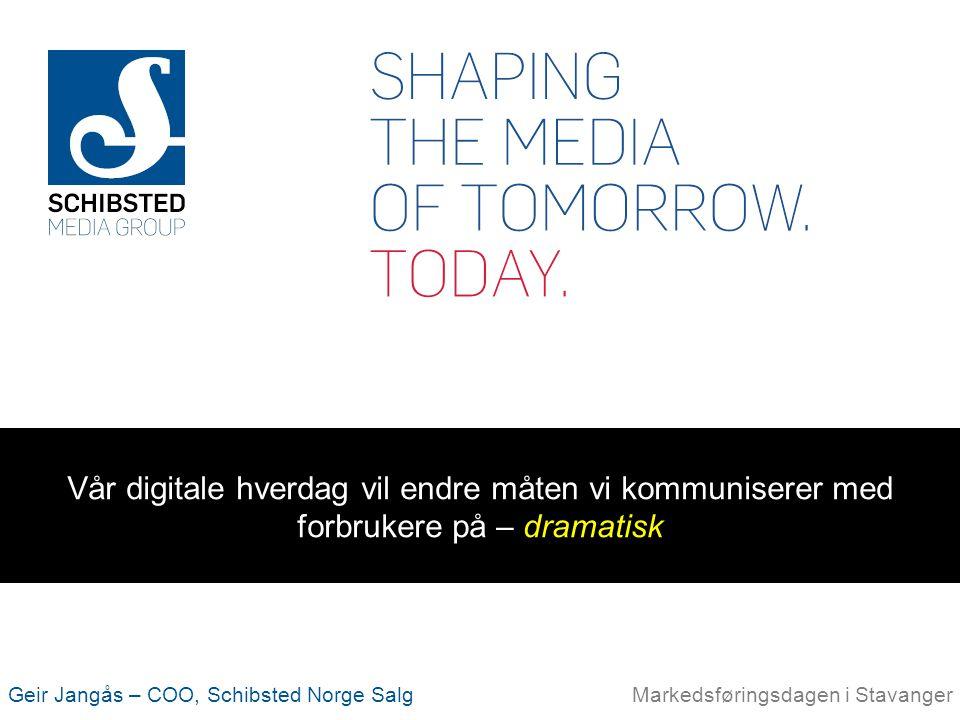 Vår digitale hverdag vil endre måten vi kommuniserer med forbrukere på – dramatisk