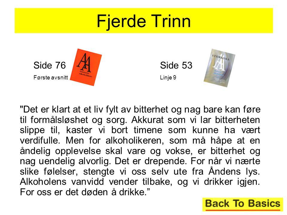 Fjerde Trinn Side 76. Første avsnitt. Side 53. Linje 9.