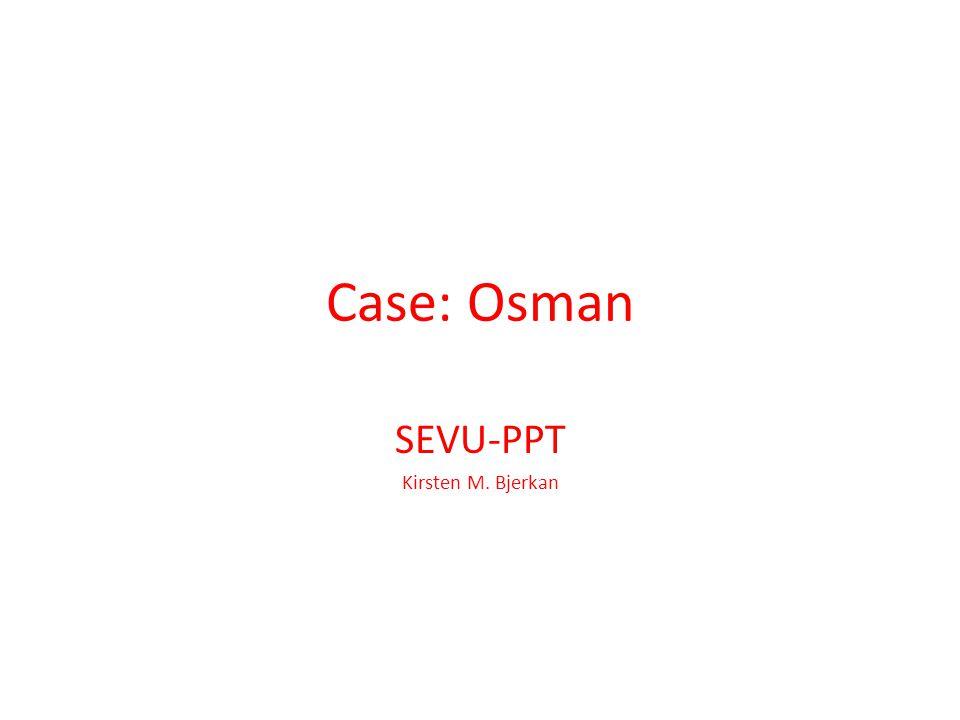 SEVU-PPT Kirsten M. Bjerkan