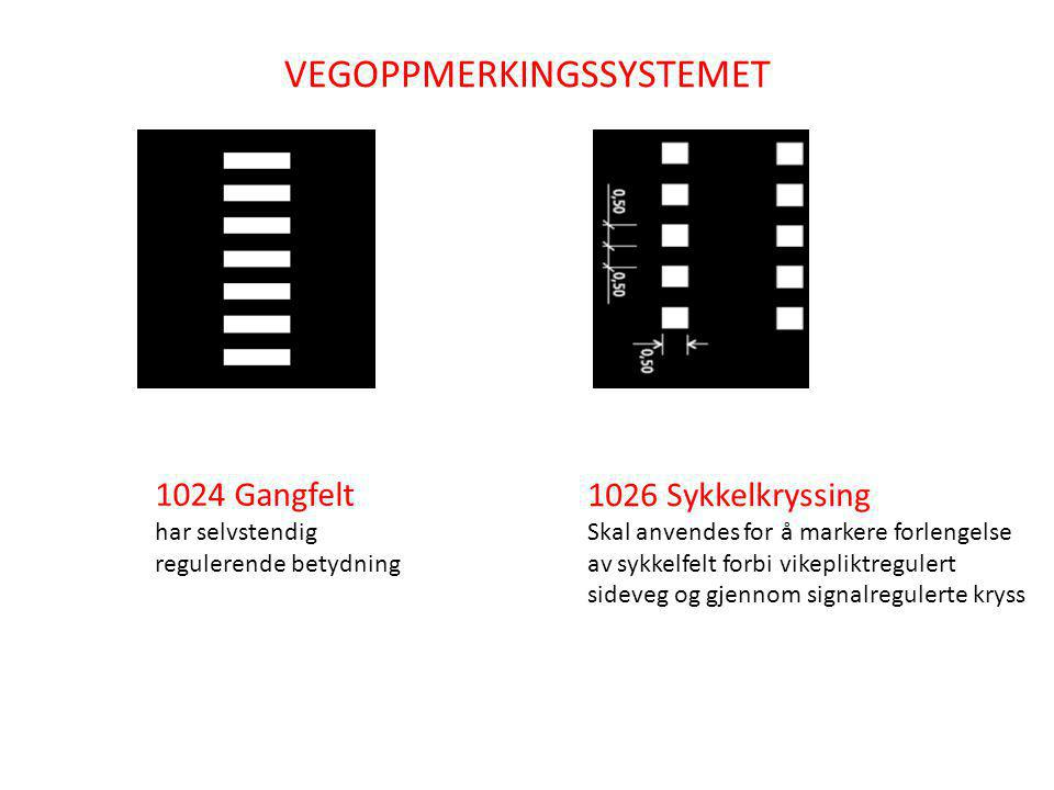 VEGOPPMERKINGSSYSTEMET