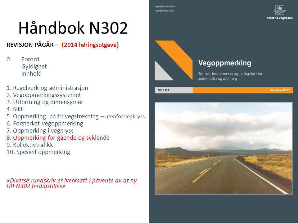 Håndbok N302 REVISJON PÅGÅR – (2014 høringsutgave) 0. Forord Gyldighet