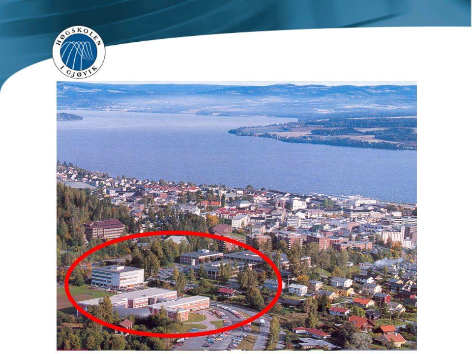 Høgskolen i Gjøvik består av flere bygninger