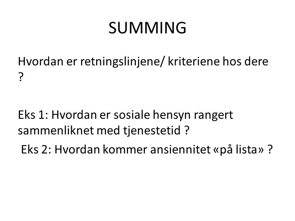 SUMMING
