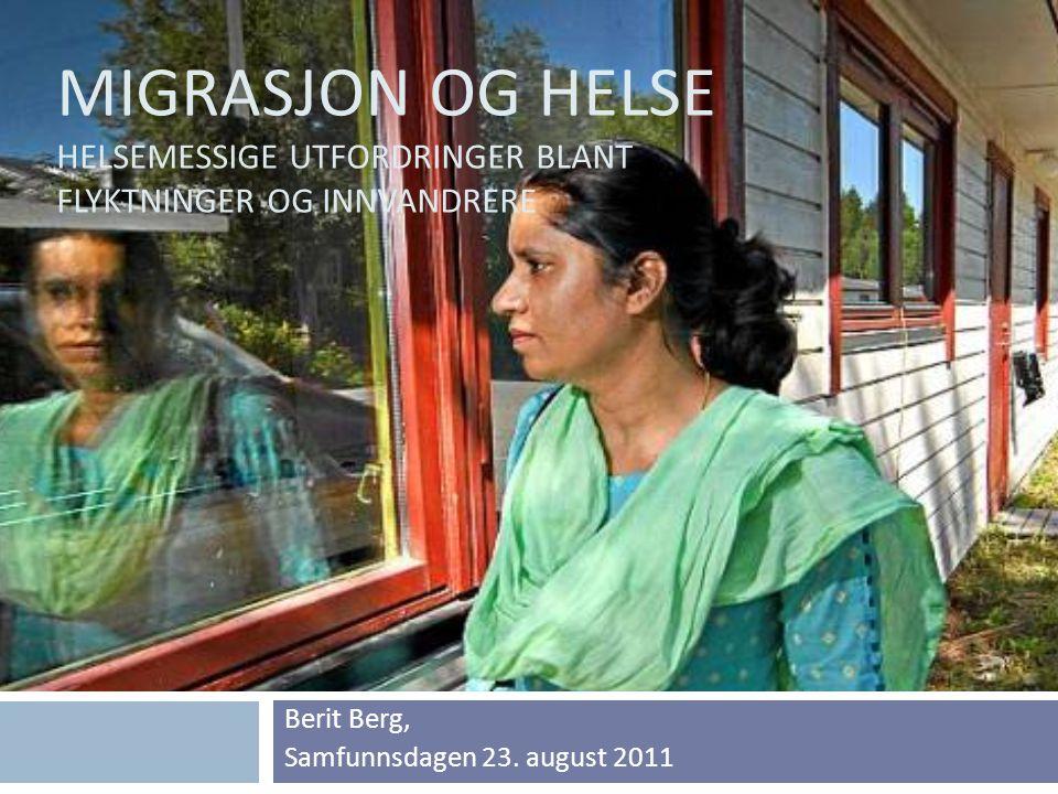 Berit Berg, Samfunnsdagen 23. august 2011