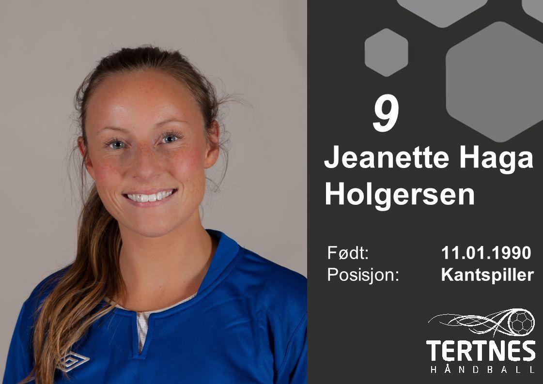 Jeanette Haga Holgersen