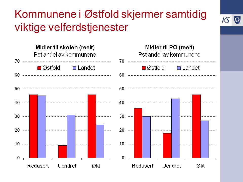 Kommunene i Østfold skjermer samtidig viktige velferdstjenester