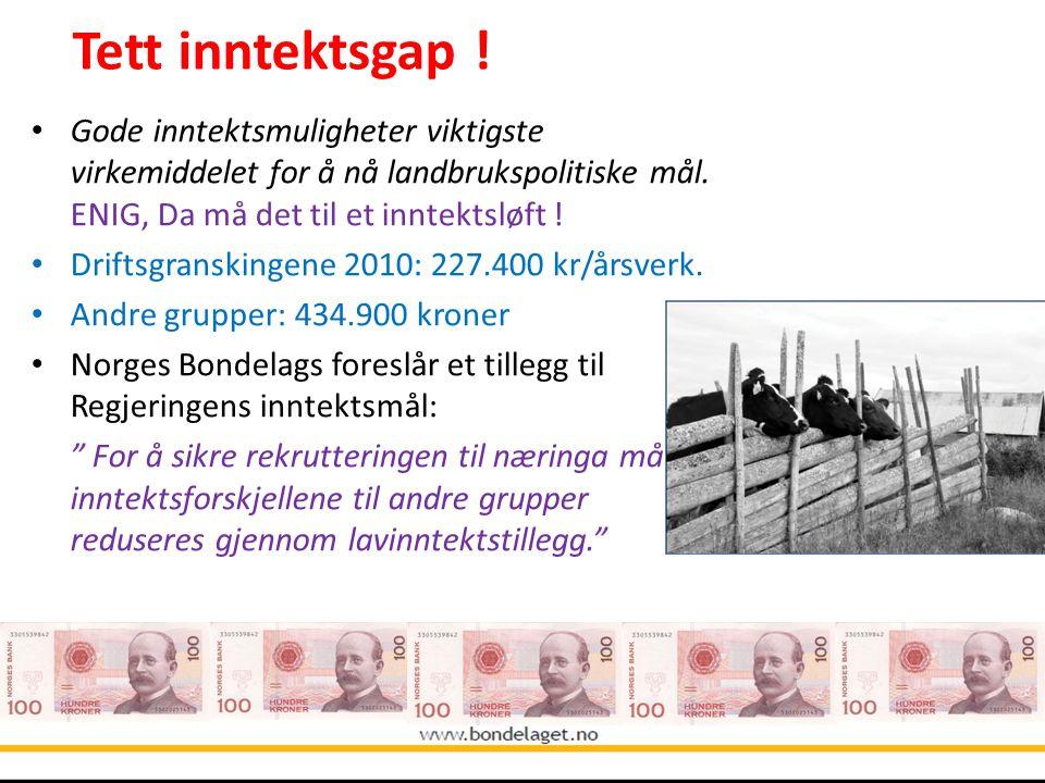 Tett inntektsgap ! 10.09.2004.