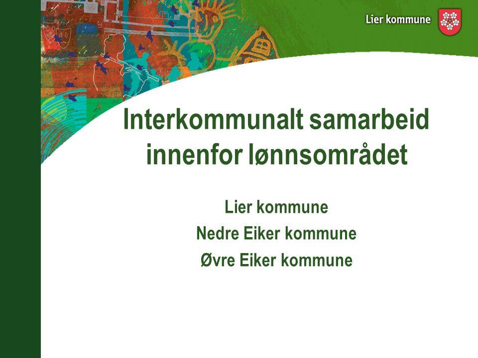 Interkommunalt samarbeid innenfor lønnsområdet