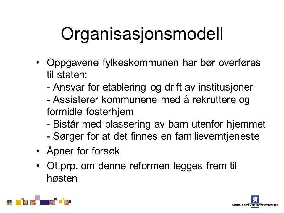 Organisasjonsmodell
