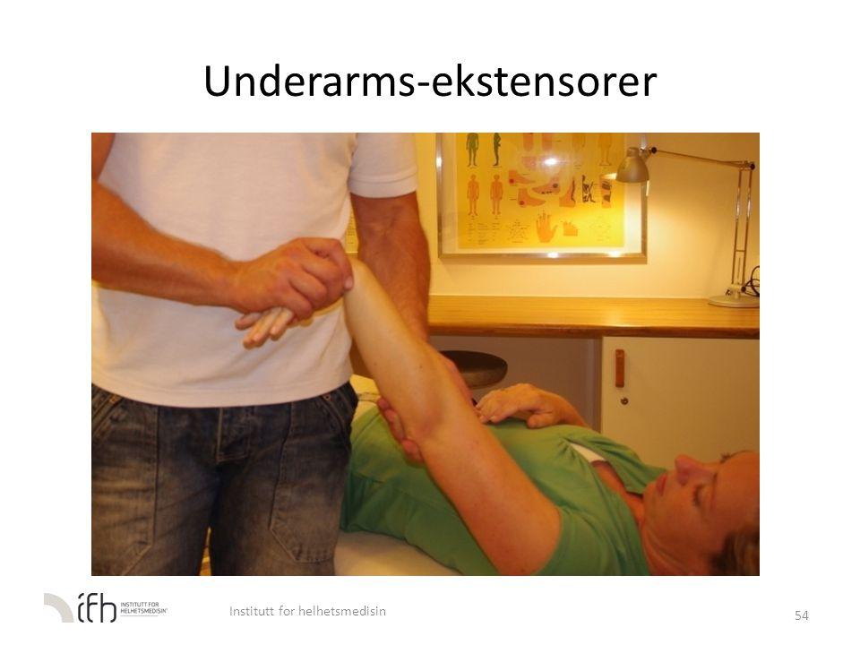 Underarms-ekstensorer