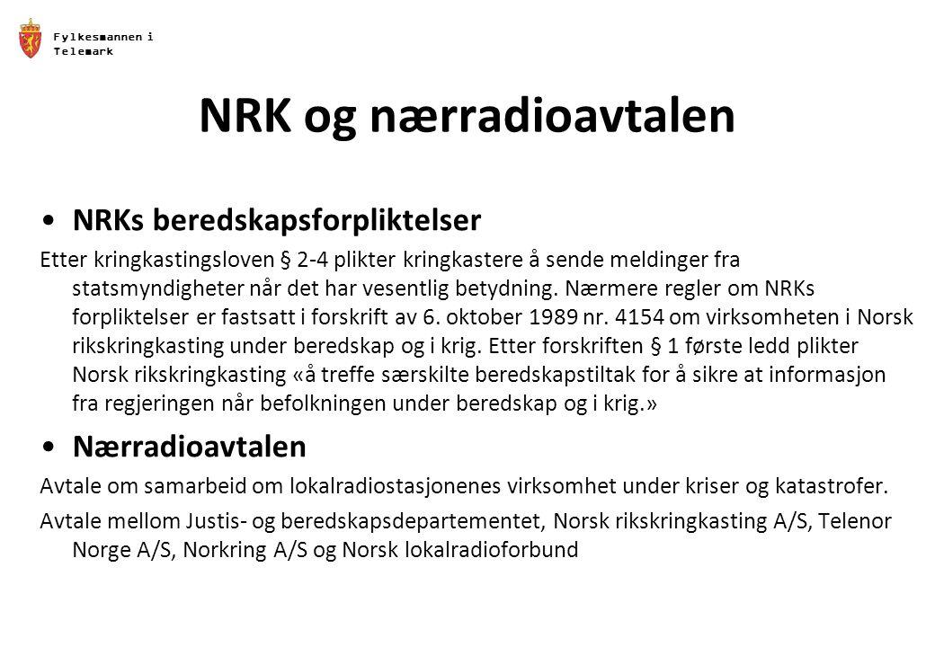 NRK og nærradioavtalen