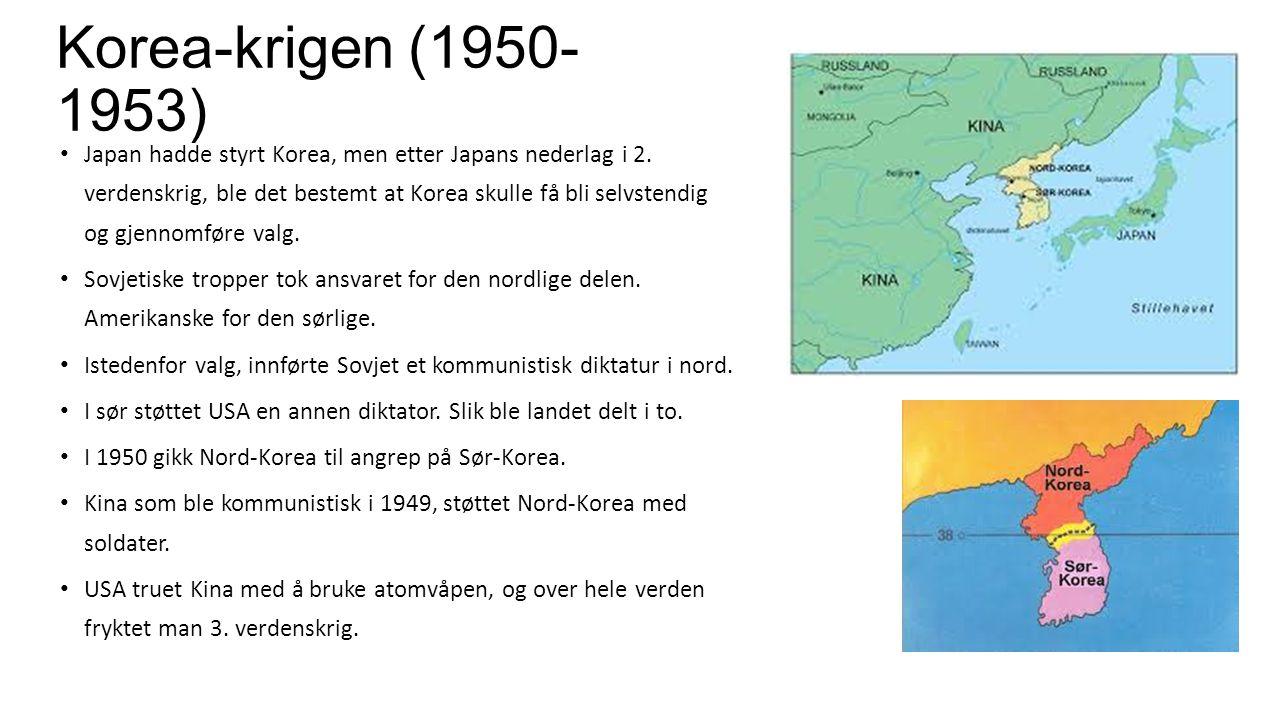 Korea-krigen (1950-1953)
