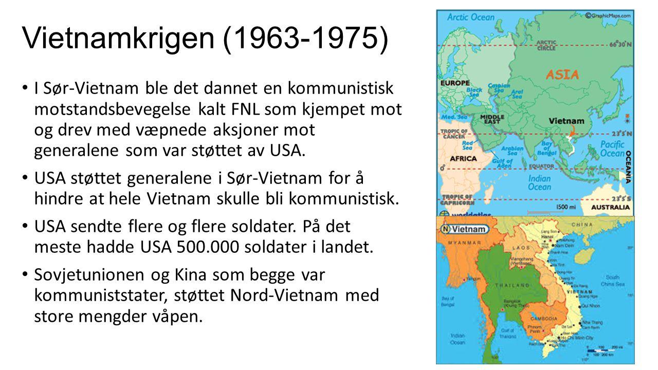 Vietnamkrigen (1963-1975)