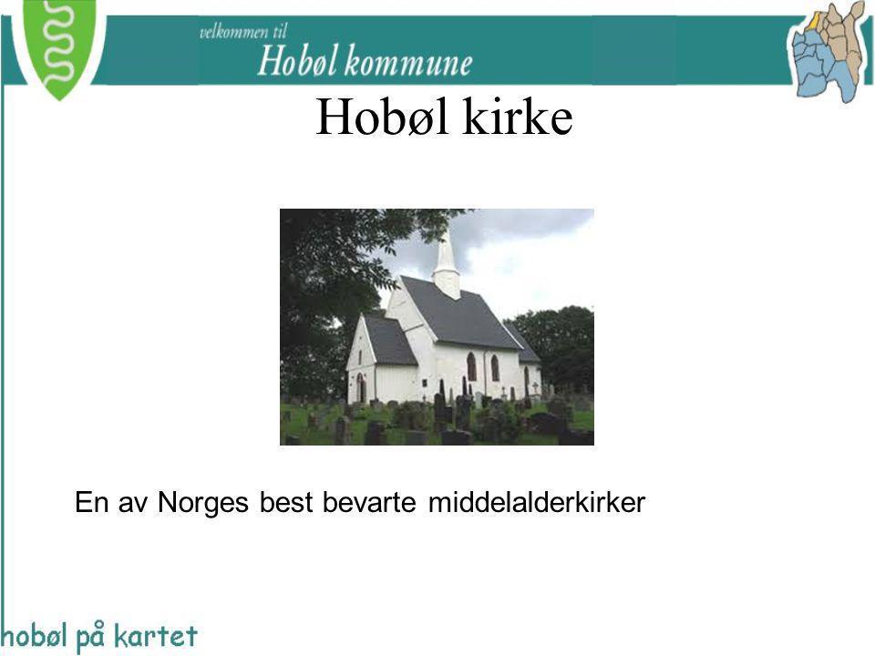 Hobøl kirke En av Norges best bevarte middelalderkirker