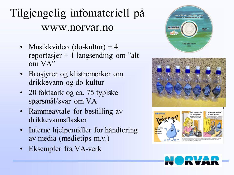 Tilgjengelig infomateriell på www.norvar.no