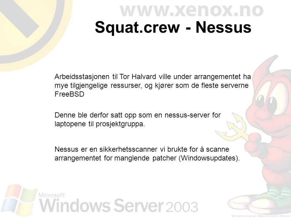 Squat.crew - Nessus