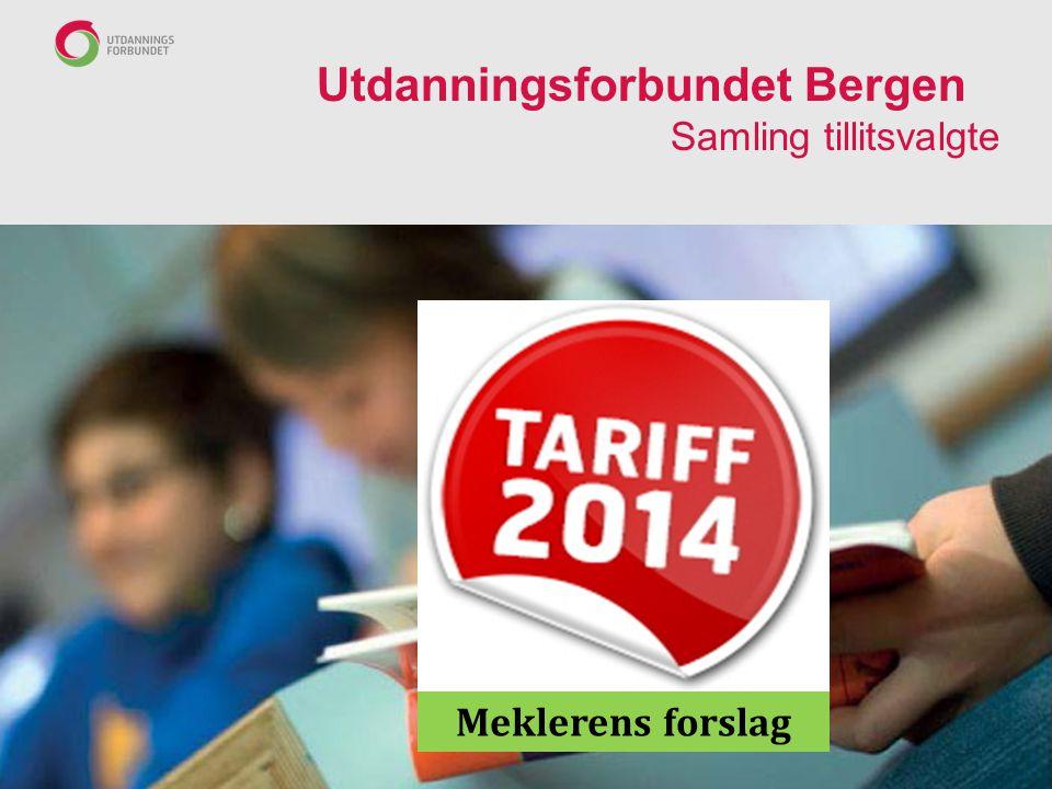 Utdanningsforbundet Bergen Samling tillitsvalgte