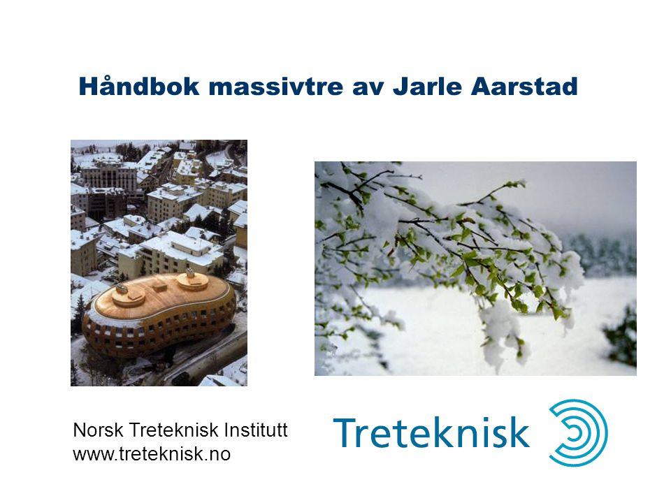 Håndbok massivtre av Jarle Aarstad