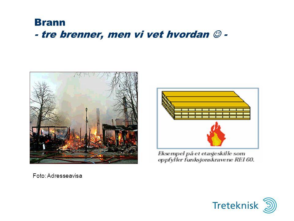 Brann - tre brenner, men vi vet hvordan  -
