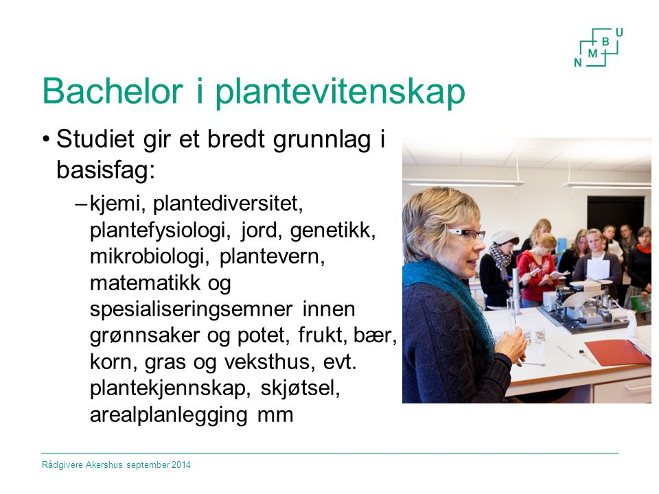 Bachelor i plantevitenskap