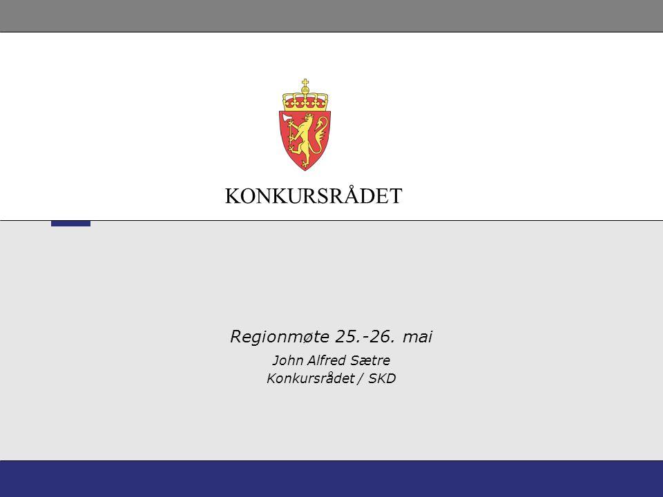 John Alfred Sætre Konkursrådet / SKD