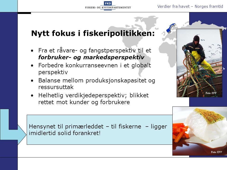 Nytt fokus i fiskeripolitikken: