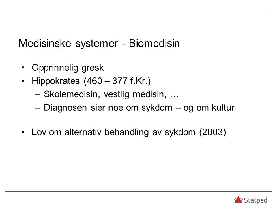 Medisinske systemer - Biomedisin