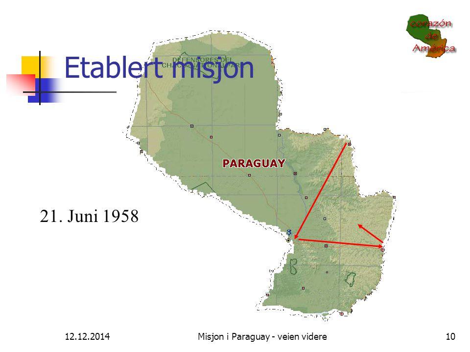 Misjon i Paraguay - veien videre