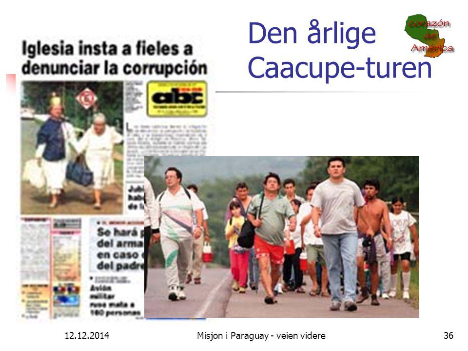 Den årlige Caacupe-turen