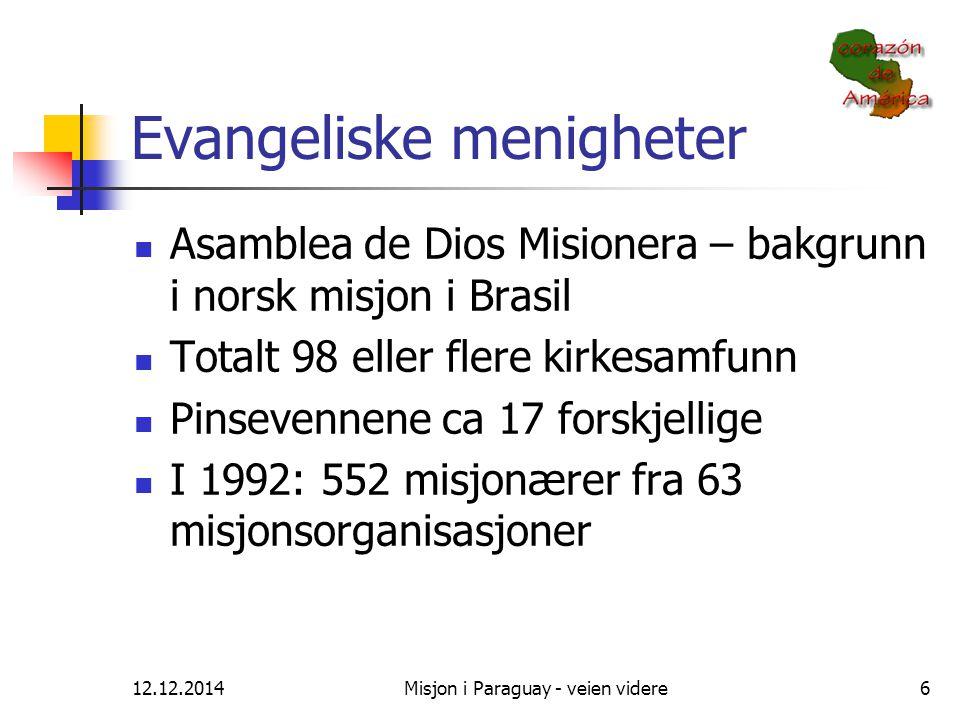 Evangeliske menigheter