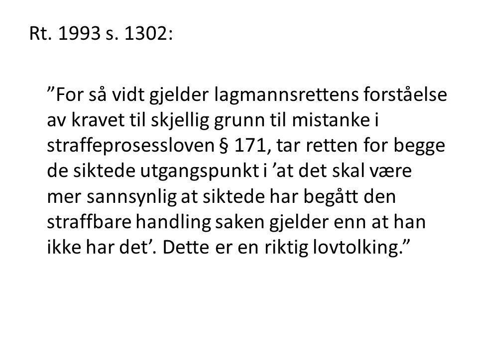 Rt. 1993 s. 1302: