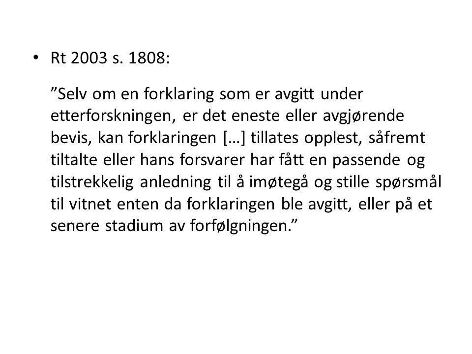 Rt 2003 s. 1808: