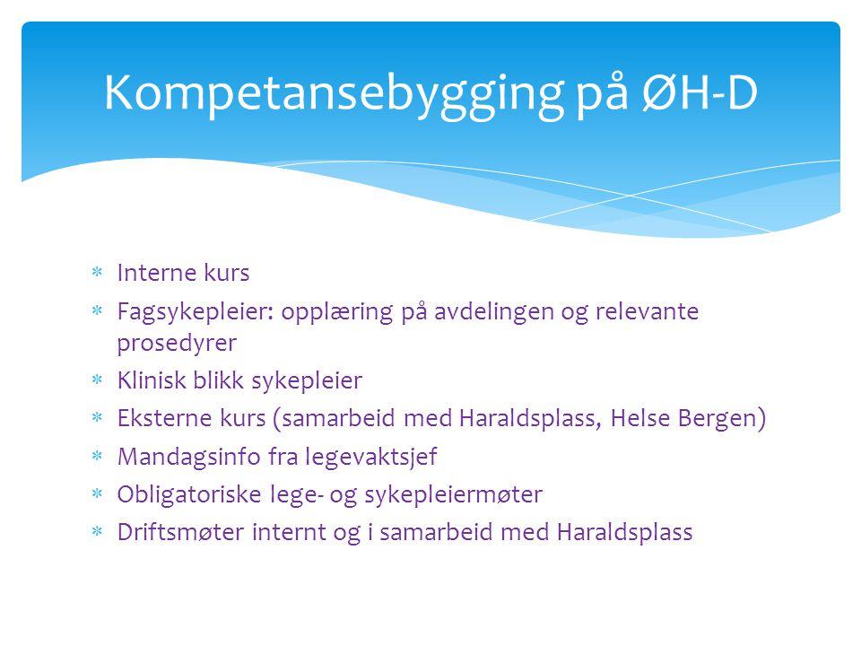 Kompetansebygging på ØH-D