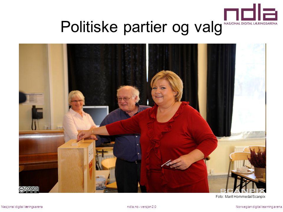 Politiske partier og valg