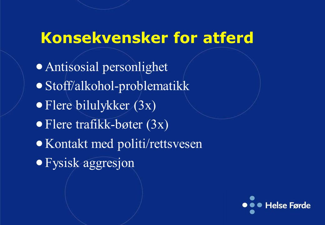 Konsekvensker for atferd