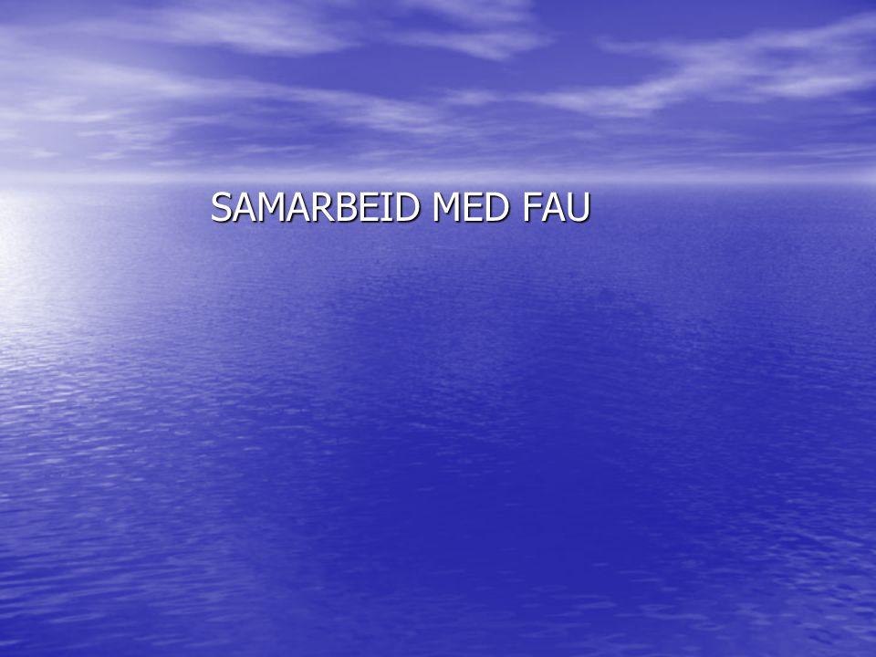 SAMARBEID MED FAU