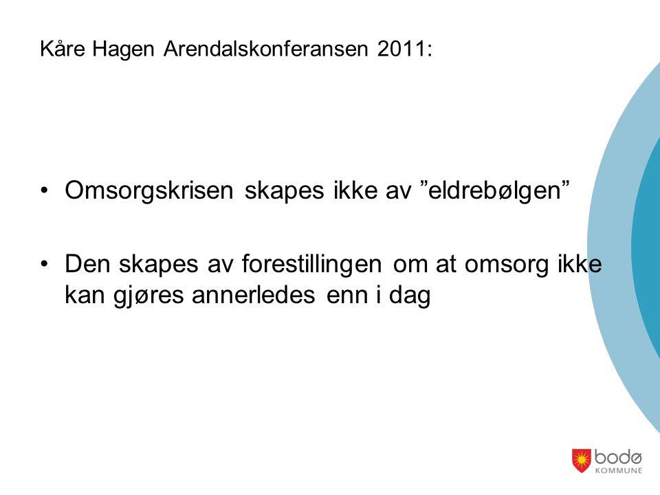Kåre Hagen Arendalskonferansen 2011: