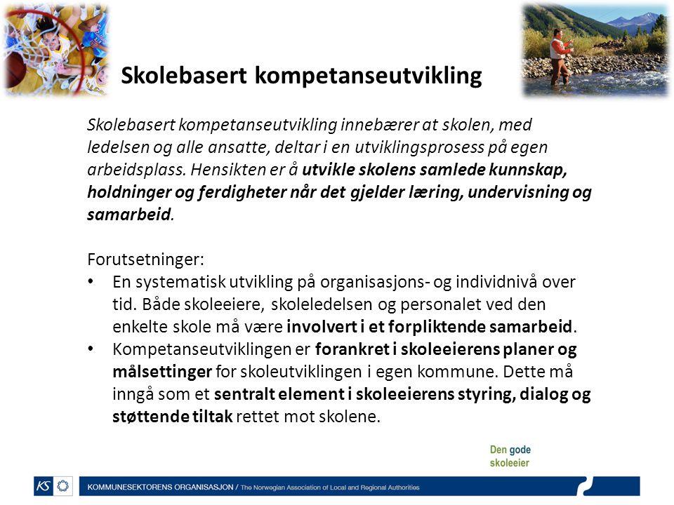 Skolebasert kompetanseutvikling
