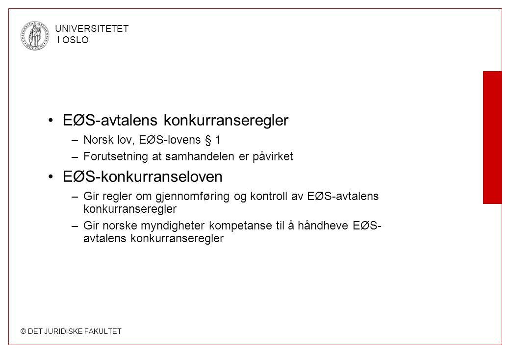 EØS-avtalens konkurranseregler