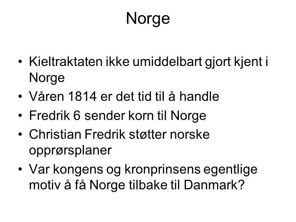 Norge Kieltraktaten ikke umiddelbart gjort kjent i Norge