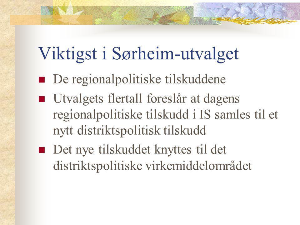 Viktigst i Sørheim-utvalget