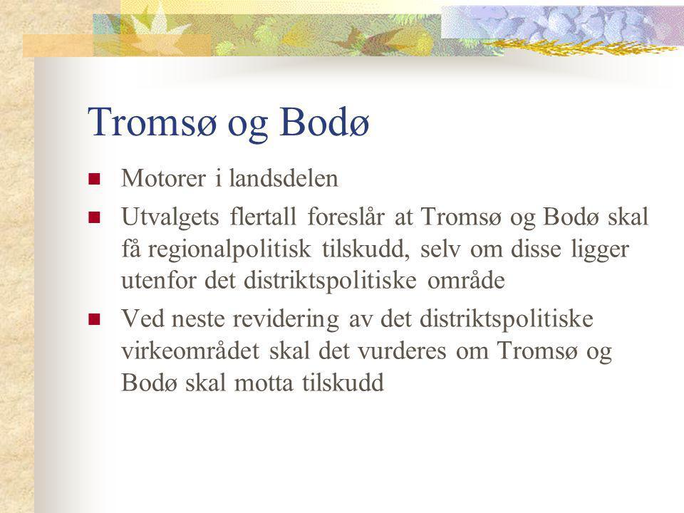 Tromsø og Bodø Motorer i landsdelen