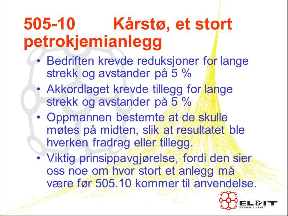 505-10 Kårstø, et stort petrokjemianlegg