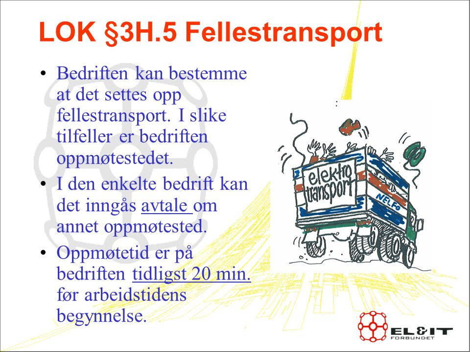LOK §3H.5 Fellestransport
