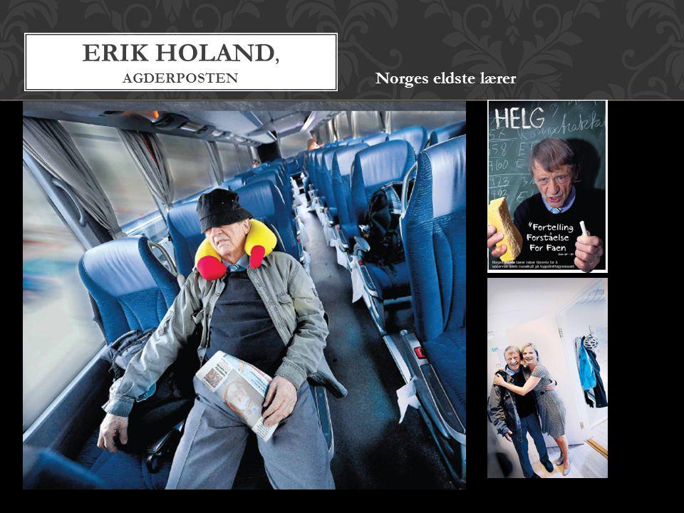 Erik Holand, agderposten