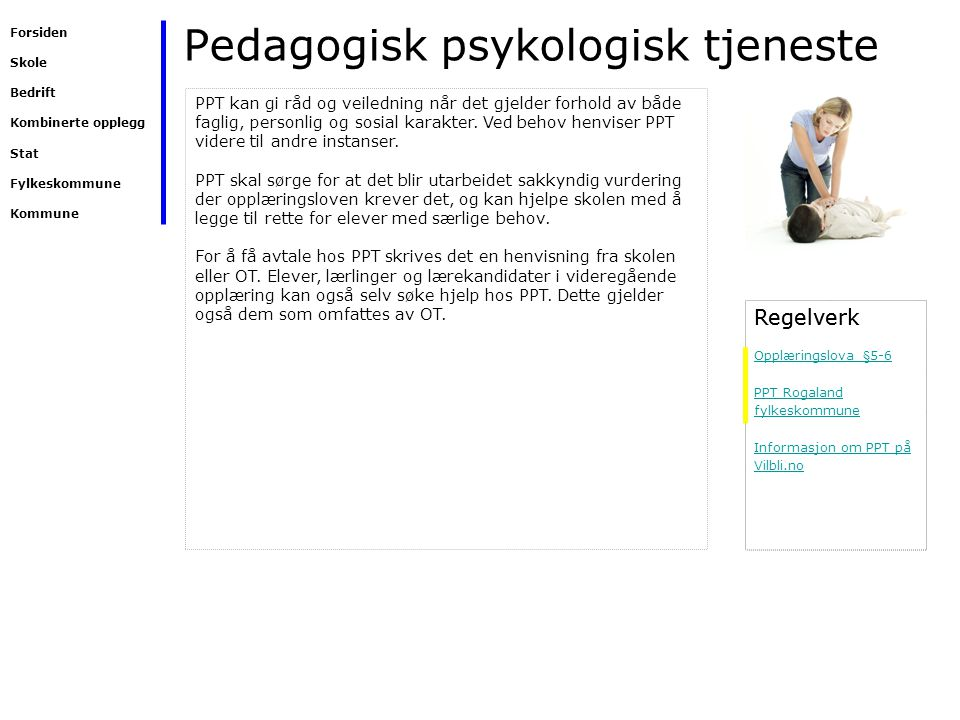 Pedagogisk psykologisk tjeneste